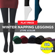 ?5th Restock ?Local Delivery? 2Type 3Color Leggings/Winter Boots/Socks/Flat Price/Winter Wear