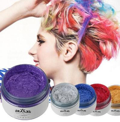 Qoo10  Japan Washable Colour Hair Dye Wax 7 Colours