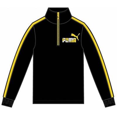 プーマ(PUMA) ST ハーフジップ フリース 831203 01 ブラック 【ジュニア キッズ トレーニングウェア ランニング ジャージ】の画像