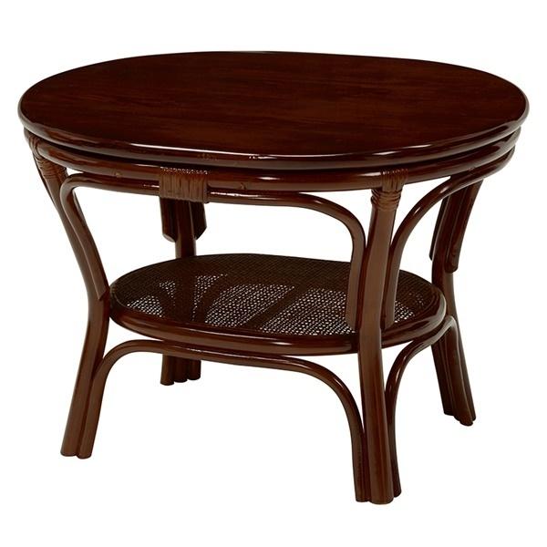 サイドテーブル テーブル つくえ 机 木製テーブル ローテーブル センターテーブル リビングテーブル カフェテーブル 丸型 リビング 木製 籐 メーカー直送