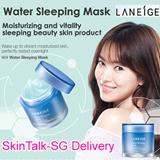 [SKIN TALK-SG Delivery]★LANEIGE★ Water Bank Series New Water Sleeping Mask (Pack) / Gel Cream_EX / Moisture Cream_EX / Essence_EX / Eye Gel / Balancing Emulsion Toner / BB Cushion