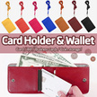 ONES Card Holder★Wallet / Coin / Pouch / Multi Style Case★storage space