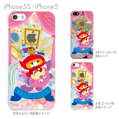 【iPhone5S】【iPhone5】【TORRY DESIGN】【Clear Arts】【iPhone5ケース】【カバー】【スマホケース】【クリアケース】【赤ずきんちゃん】 27-ip5s-tr0029の画像