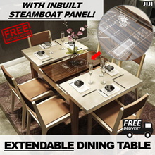 ★Grand Dining Tables ★Marble ★Tempered Glass ★Storage ★Extendable ★Foldable ★Carbon Steel