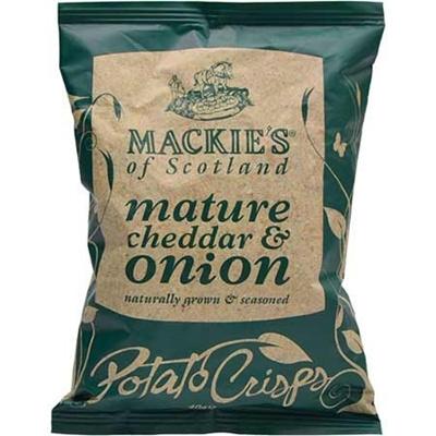 マッキーズ ポテトチップス チェダー&オニオン 40g×24袋 【フード お菓子 ポテトチップス】の画像