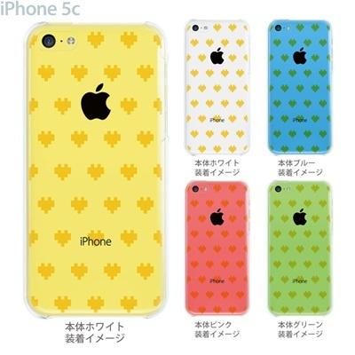 【iPhone5c】【iPhone5c ケース】【iPhone5c カバー】【ケース】【カバー】【スマホケース】【クリアケース】【クリアーアーツ】【デジタルハート】 47-ip5c-tm0007の画像