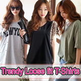[Bins Girl]★Free shipping!!!★KOREA MEGA HIT 88% OFF★ [Top Shop] women fashion women clothing Plus Size T-Shirts Over 100 Style Customer Satisfaction CNY