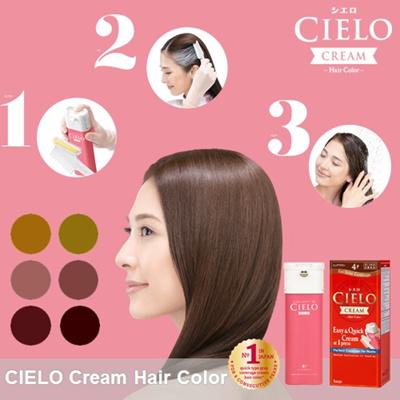 Qoo10  11 Japan No1 CIELO Cream Hair Colour As Easy As