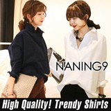 ★ Korea fashion industry NO.1 Naning9 ★limited special price ♥ incredible bargain ♥ 2015 S / S New! High Quality! Trendy Shirts/BIRKIN*NB