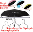 Auto open and close Magic Umbrella/Super Large Umbrella/511 Tactical Umbrella/UV light Protection