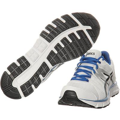 アシックス(asics)ゲルユニファイア/GEL-UNFIREランニングシューズ0190/ホワイト×シルバーTJA135【ジョギングマラソンメンズトレーニングウォーキング】