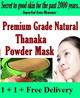 100% ORIGINAL PREMIUM GRADE THANAKA MASK 110g WHITENING/PIMPLE ELIMINATOR/SEVERE ACNE/ ANTI-AGING/PORE TIGHTENING/FACE MASK TREATMENT/BLACKHEAD/WHITEHEAD/tanaka