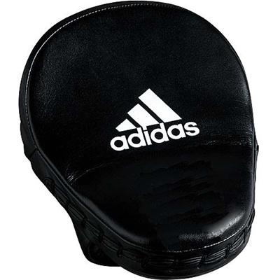 アディダス(adidas) Pro Leather Short Focus Mitts パンチングミット ブラック ADIBAC012 【ボクシング ムエタイ キックボクシング 空手 トレーニング】の画像