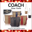 [The 5th Ave] 17 Designs/Various Colors!!! ★•• COACH ••★ Men/Women°s Crossbody Bags ★100% Authentic Brand Items★FREE Shipping and Coach Gift boxes from USA★