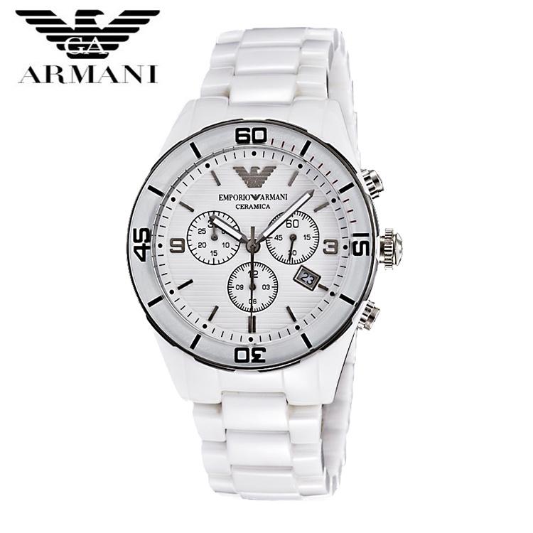 【クリックで詳細表示】EMPORIO ARMANI エンポリオ アルマーニ AR1424 メンズ セラミック 腕時計 品 超特価 時計 送料無料 正規輸入品