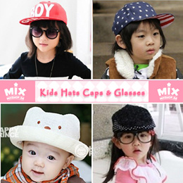 「mixshop.sg」 ★ Kids Hats Caps ★ Glasses / 500+ Designs