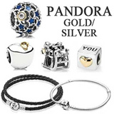 PANDORA GOLD/SILVER CHARM Series ★100% Authentic Brand Items ★ FREE Shipping from Korea★