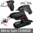★☆★LOWEST PRICE★☆★MICRO 5PIN CHAGABLE 3.6v Cordless Screw Driver / drill series