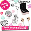 [PANDORA] Bracelets Bangles Charms Necklaces Rings Earrings *Lowest Price* Mothers Day Best Gift