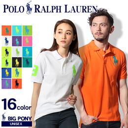 ポロ ラルフローレン RALPH LAUREN ビッグポニー ポロシャツ 半袖 ボーイズ323-191789 全9色 メンズ(男性用) 兼 レディース(女性用)