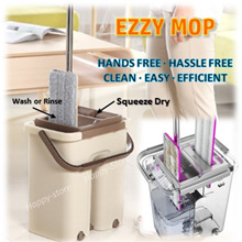 MOP EASY/MAGIC CLEANING MOP/FLAT MOP/MICROFIBER/HANDS FREE DRYING