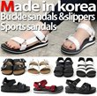 [2015 MUST HAVE ITEM] S/S MICROLIGHT SANDAL AND BUCKLE SLIPPER FROM KOREA!! FAST SHIPPING!! SALE IN SINGAPORE!!