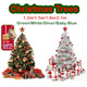 ★Merry Xmas Sale!★Green and White trees stock availble since 3rd Dec!★【1.2m/1.5m Christmas Tree!】【Extra Dense!Free decor ribbon!】【Green/White/Silver/Blue! 4 colors available!】
