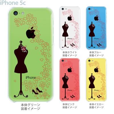 【iPhone5c】【iPhone5c ケース】【iPhone5c カバー】【ケース】【カバー】【スマホケース】【クリアケース】【クリアーアーツ】【マネキン】 21-ip5c-ca0012の画像
