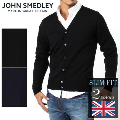 JOHN SMEDLEY ジョンスメドレー KRIS CARDIGAN クリス カーディガン メンズの画像
