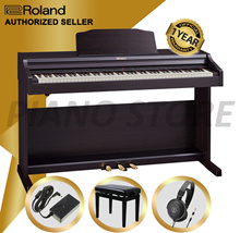 [SG Warranty] Roland RP-302 SuperNATURAL Digital Piano | Family Piano Keyboard 88 Key Music Keyboard