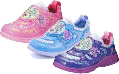(A倉庫)プリンセスプリキュア C-670 子供靴 スニーカー 女の子 キッズ キャラクター シューズ C670【2015年モデル】CCX6700の画像