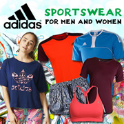 ADIDAS FOR MENS AND WOMENS★SPORTSWEAR★TEE★SHORTS