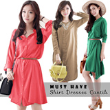 MUST HAVE Shirt Dress Collection | 3 model