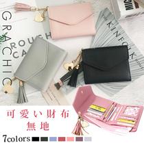 レディース 財布 7色から選べる  PU カード入れ 可愛いデザイン