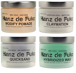 [CHEAPEST] HANZ DE FUKO // MADE IN USA // ORGANIC STYLING WAX // CELEBRITY HAIR STYLING WAX ★INSTOCK