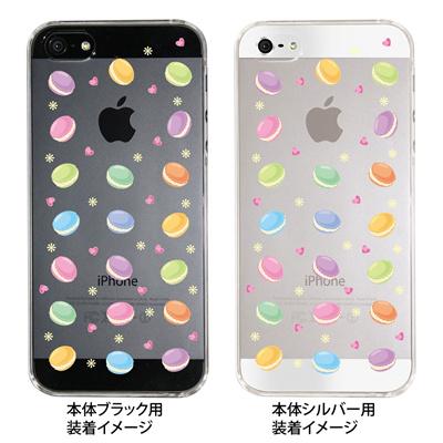【iPhone5S】【iPhone5】【Clear Fashion】【iPhone5ケース】【カバー】【スマホケース】【クリアケース】【スイーツ】 09-ip5-sw0001の画像