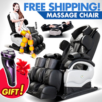 [Sales promotion]PREMIUM! FREE SHIPPING! Massage Chair / Airbag  No Install   /   Instant Use / Body Relax / Shoulder  Leg  Neck  Hips Waist Massage/  Back Heating  / Remote Control【M18】
