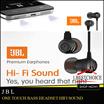 Original JBL ALCATEL OneTouch Bass Headset HiFi Sound Copotan Earphone(No Box)
