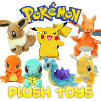 Pokemon Soft Toys/Plush Collection (12cm-31cm)