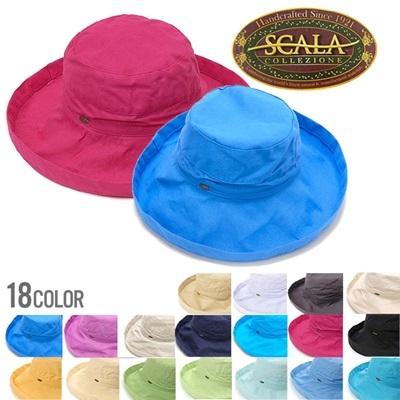 スカラハット SCALA 帽子 レディース ハット お洒落にUVカット 紫外線対策 熱中症対策 LC399【No.2】 ブランド ファション ぼうし 帽子 通販の画像