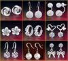 30*Korean Style Rings*fashion Earrings*Earring*Silver*Ear ring*gift women lady present christmas