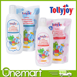 [TOLLYJOY] 900ml Baby Accessories and Vegetable Liquid Cleanser ★ EFFECTIVE CLEANSER ★ 900ml