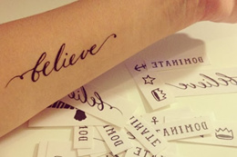 [READY STOCK] 10 Sets Of  A4 Temporary Tattoo Paper DIY Your Own Temporary Tattoo