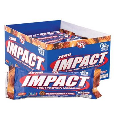 Zero impact protein bars
