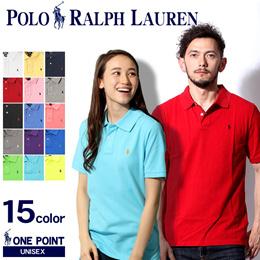 POLO RALPH LAUREN ポロ ラルフローレン ワンポイント ポロシャツ 男女兼用
