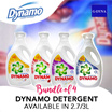 [G-DYNA] Bundle of 4 Dynamo detergent 2.7/3L