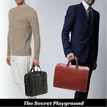 Men Business Messenger Bag Briefcase Laptop Office Travel Leather Backpack