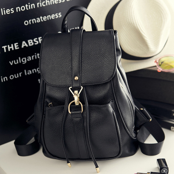2017 new woman bag backpack schoolbag their Korean fashion PU handbags bags women Deals for only S$39.48 instead of S$0