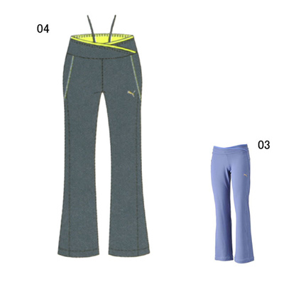 プーマ (PUMA) レディース ギュラーフィット ジャズパンツ 902957 [分類:エクササイズ・フィットネス パンツ (レディース)] 送料無料の画像