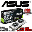 ASUS Dual series of GeForce® GTX 1060 Gaming Graphic Card DUAL-GTX1060-O3G / 1809 MHz Boost Clock